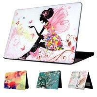Butterfly Girl Modello Rigido di Caso Della Protezione Per MacBook 12 pollice Air 11 13 pollice Pro Retina 13 pollice Pro 13 Tocco Bar 13