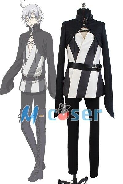 Black Butler Kuroshitsuji 2 Earl Snake Uniformní Cosplay kostýmy Kompletní set
