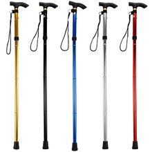 Walking Stick Ultralight 4-section Adjustable Canes Aluminum Alloy