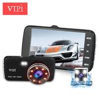 Dual Lens Car DVR Auto Camera Dvrs Recorder Camcorder Dash Cam Vehicle mini auto 1080P Night Vision Parking Video Registrator