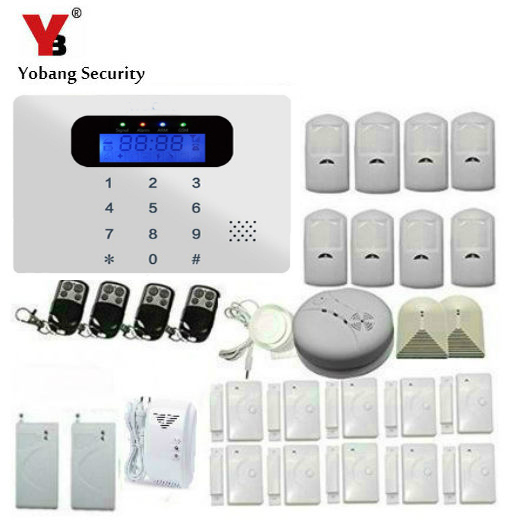 Lovely YobangSecurity GSM Wireless Home Burglar Security Alarm System DIY Kit Auto Dial Pir Sensor Detector Review - Minimalist outdoor motion sensor alarm Fresh