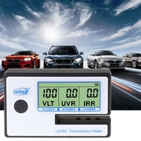 LS162 Window Tint Meter Solar Film Transmission Meter VLT UV IR Rejection Tester LS'D Tool
