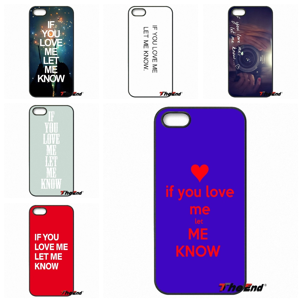 If <font><b>you</b></font> <font><b>love</b></font> <font><b>me</b></font> <font><b>let</b></font> <font><b>me</b></font> konw Cell Phone Cases Covers Shell For Blackberry Q10 Z10 Microsoft Nokia Lumia 540 550 640 950 X2 XL