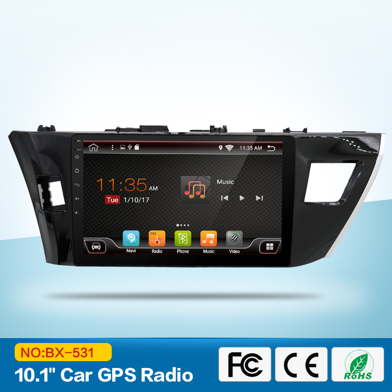 4core 1.6GHz CPU 10.1 '' Android 5.1 Car DVD Player Car Automobile - الکترونیک خودرو