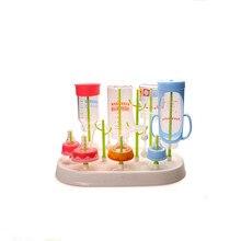 Bébé bouteille Sèche-Cuisine Bouteille Séchage Rack marque bébé Infantile Soins Infirmiers Porte-Bouteille Pour Nourrir Les Bébés Biberon Arbre Titulaire