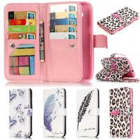 For Samsung Galaxy S3 Neo Case Luxury Flip Leather Wallet Cartoon 3D Relief Patterns Phone Case