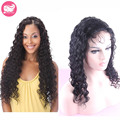Deep Wave Brazilian Virgin Hair Full Lace Wigs For Black Women Glueless Full Lace Human Hair Wigs With Baby Hair Lace Front Wigs