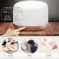 Household Large Capacity 500ml Aromatherapy Cool Mist Spray Air Purifier For Home Mist Maker Aroma Diffuser