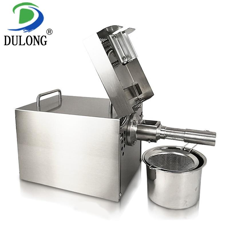 Stainless steel coconut press machine automatic mustard extraction machine olive press machine