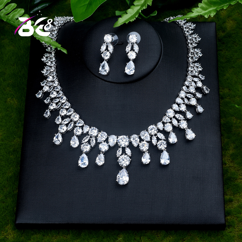 Be 8 New Fashion Necklace and Earring Jewelry Set Square Design for Women Fashion Jewelry Party Gift Bijoux Femme YC004Be 8 New Fashion Necklace and Earring Jewelry Set Square Design for Women Fashion Jewelry Party Gift Bijoux Femme YC004