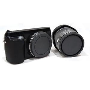 Image 2 - 10 pares de tampa do corpo da câmera + tampa da lente traseira para sony nex NEX 3 e mount