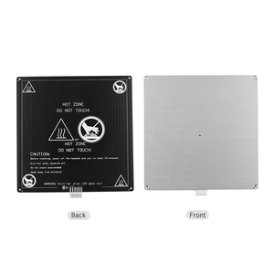 Image 2 - Aibecy Aluminium 12V Broeinest 220*220*3Mm Verwarmde Bed Met Draad Kabel Heatbed Platform Kit Voor anet A8 A6 3D Printer Onderdelen