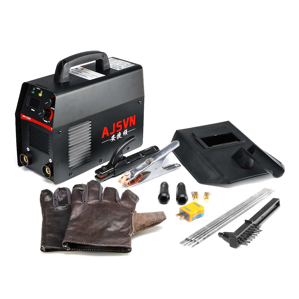 20A-225A 5000 W ręczny falownika IGBT spawacz łukowy-SPAWARKA wyświetlacz cyfrowy Mini przenośne narzędzie spawalnicze