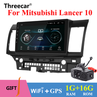 10 Android 8.1 Car GPS Player Navi Radio for Mitsubishi Lancer 10 Galant with 1G+16G Quad Core NO dvd Radio Multimedia stereo