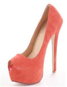 Fleurs Avec Rose Haute Toe Imprimer Talons forme Pompes Chaussures Plate 16 Cuir Mariage Peep Des Femmes Dame En Cm Sexy Fghgf De Partie Chaussures XwIxfqgzA