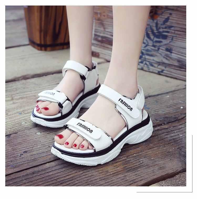 Çocuk ayakkabıları Yaz Tarzı Çocuk Sandalet Kızlar Prenses Güzel çiçekli ayakkabı Çocuklar Düz Sandalet Bebek Kız Gladyatör Yumuşak