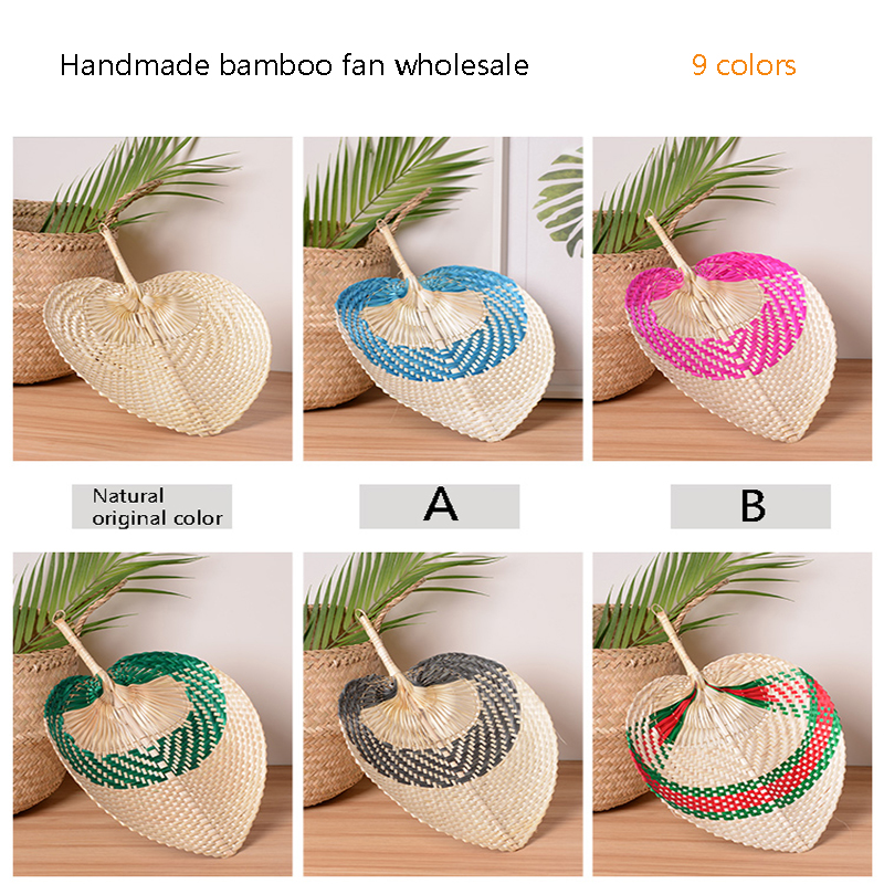 Detail Feedback Questions About Handmade Bamboo Hand Fan Weaving