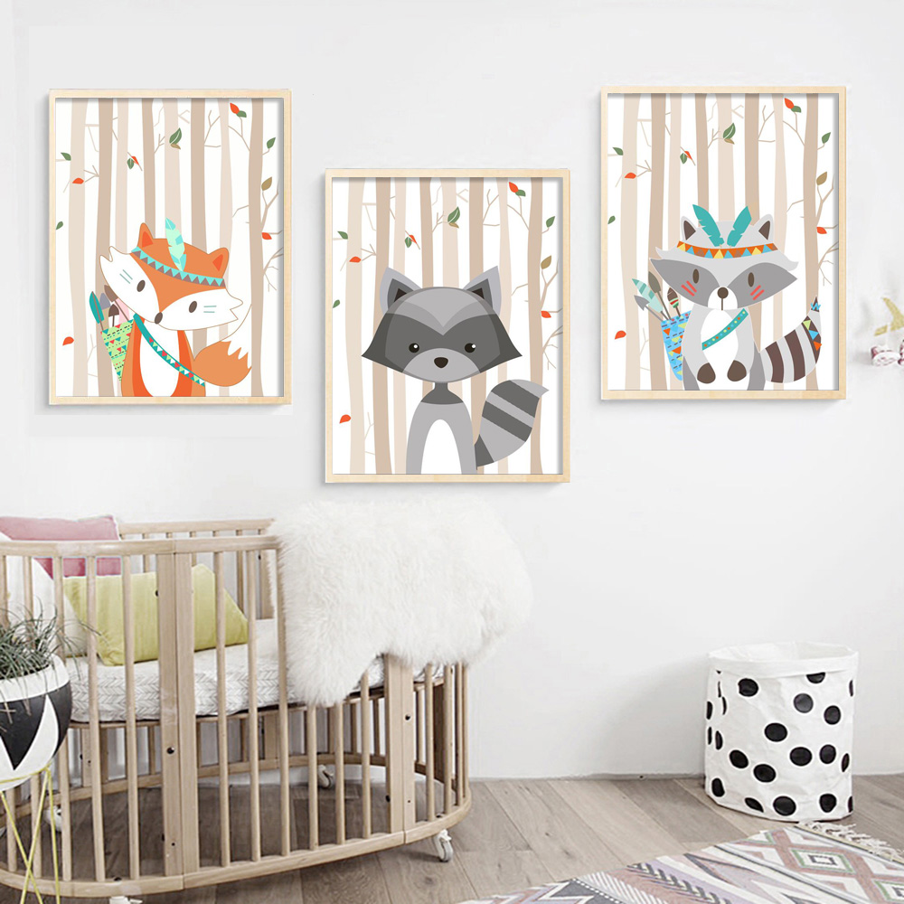 Decor, Poster, Painting, Print, Pictures, Fox