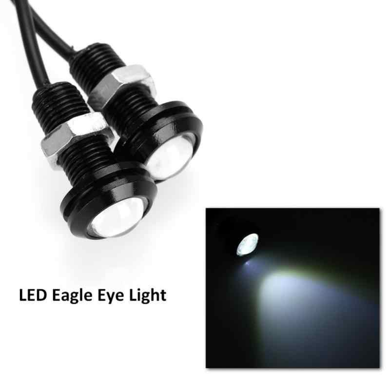 10 шт. 10 Вт 18 мм белые Противотуманные фары глаз орла DRL светодиодный двигатель автомобиля Передние и задние сигнал заднего хода света