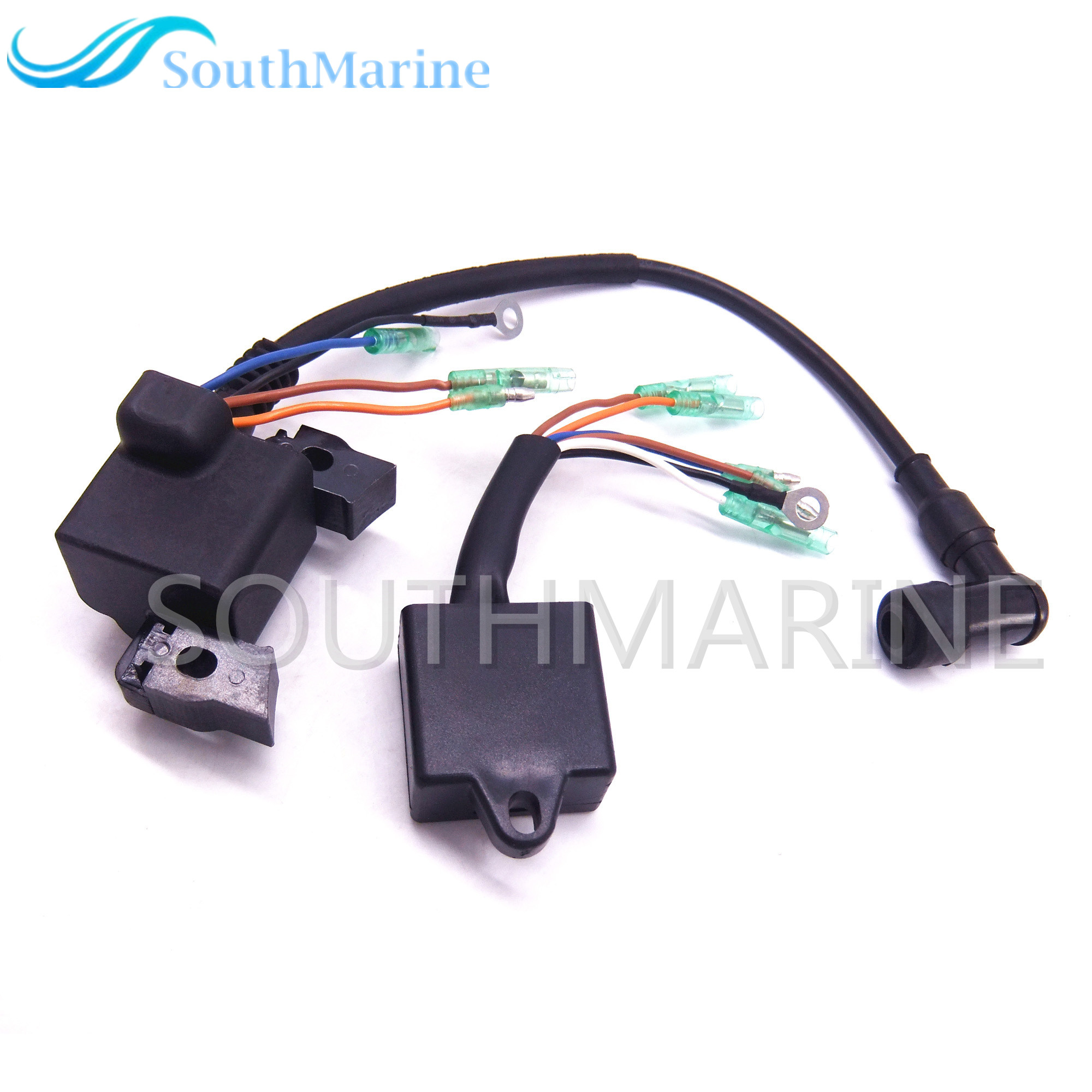 Outboard Engine Boat Motor Ignition Coil and CDI for Hangkai F6.5 6.5 HP 4-strokeOutboard Engine Boat Motor Ignition Coil and CDI for Hangkai F6.5 6.5 HP 4-stroke