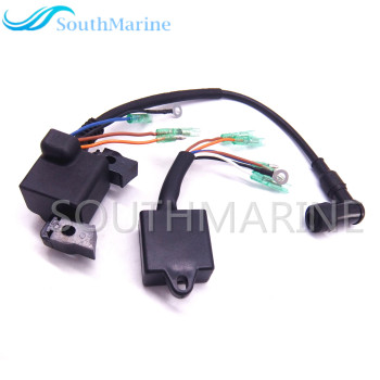 Outboard Engine Boat Motor Ignition Coil and CDI for Hangkai F6.5 6.5 HP 4-stroke