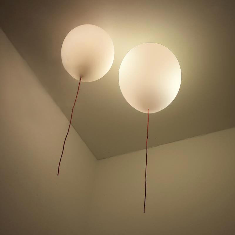 luces de techo para nios habitacin dia hcm cepillado cristal e bombilla de