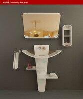 Творческий Ванная комната ковчег. Мрамор шкаф для раковины