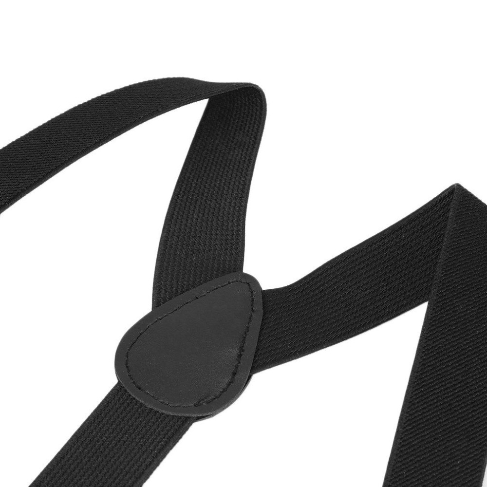 Adjustable Pants Clip-on Elastic Y-back Suspender Straps Belt For Kids Boy Girls