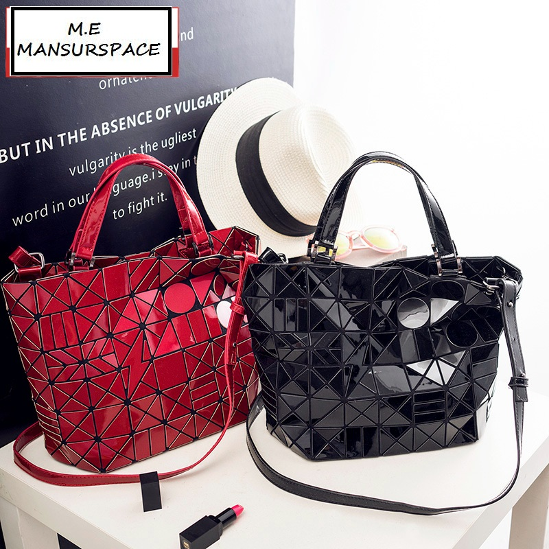 MANSURSPACE Handbag Female Folded Geometric Plaid Bag Fashion Casual Tote bao bao Women Handbag BaoBao Bag Mochila Bucket bag hd game video capture card 1080p hdmi ypbpr recorder for xbox one 360 ps3 ps4 with one click no pc enquired no any set up