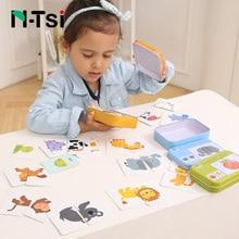N-Tsi игра для матча, головоломка для дорожного движения, мебель для животных, Сортировочная головоломка для детей, Обучающие Развивающие игрушки для детей, рождественский подарок