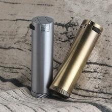 Portable Long Strip Circular Machine Vintage Lighter Metal Kerosene Windproof  Grinding Wheel Petrol Lighters