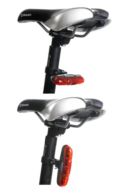 New Bicycle Laser Taillight Mountain Bike 5LED XO