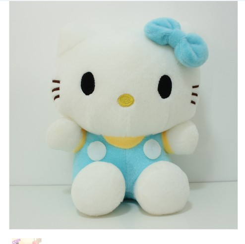NEW STuffed animal blue hello kitty  about 80cm plush toy 31 inch soft Toy birthday gift wh094 new arrival tamino maita scratch cat plush toy stuffed cool unhappy kitty black white gray color 40cm 50cm freeshipping gift