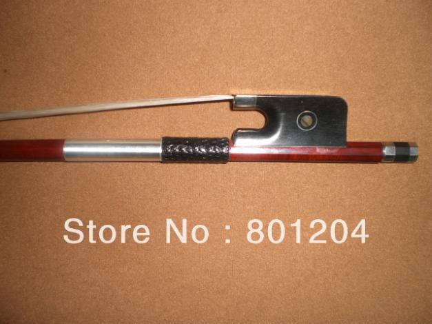Cello bow pernambuco bow stick, Ebonyl frog, Nickel copper mounted(silver color) cello bow of SFC950
