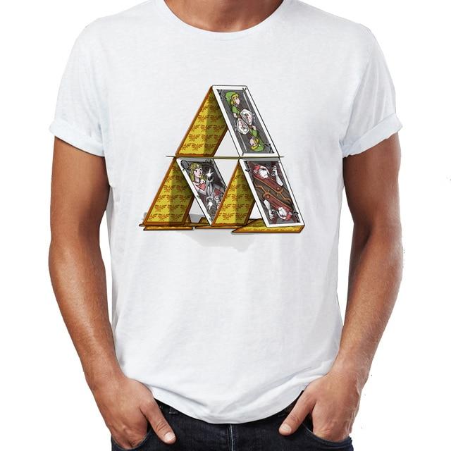 c9747d5e6 Men's T Shirt The Legend of Zelda Triforce Princess Zelda Link Ganondorf  Awesome Artwork Printed Tee