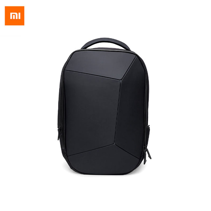 Xiaomi Men Cool Style Multifunctional Waterproof Backpack Waterproof Body Durable and Geometry Fashion Design compact fashion waterproof men backpack