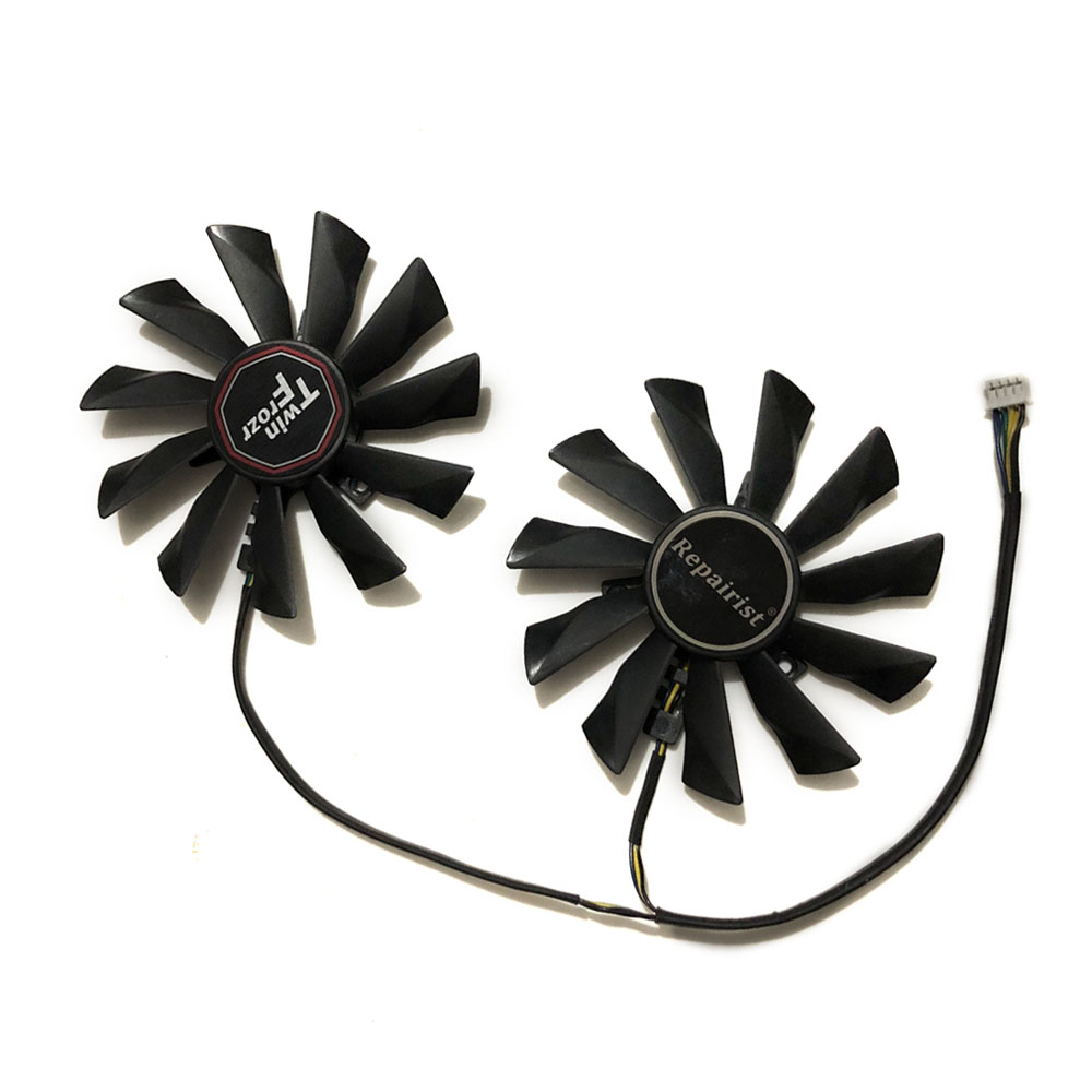 95mm 12V 0.4A 4Pin PLD10010S12HH Graphics Card <font><b>Fan</b></font> Cooler For MSI <font><b>GTX</b></font> 750 <font><b>760</b></font> 770 780 Twin Frozr IV image