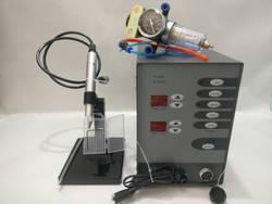 Soldadora láser de punto de acero inoxidable de 220 V, soldadora de arco de argón de pulso táctil de Control numérico automático para soldadura de joyería