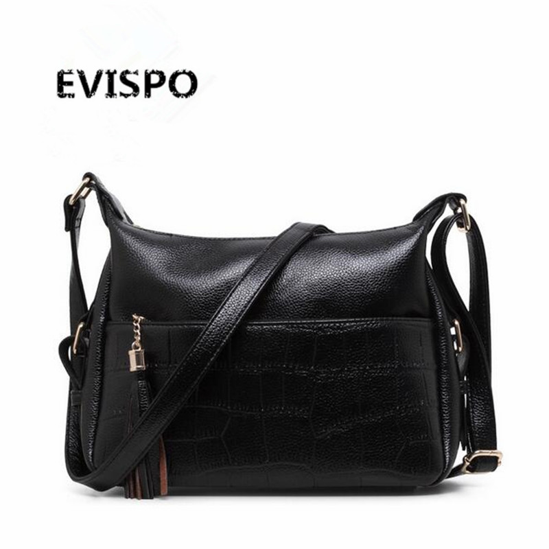 EVISPO brand casual shoulder bags women small messenger bags ladies retro design