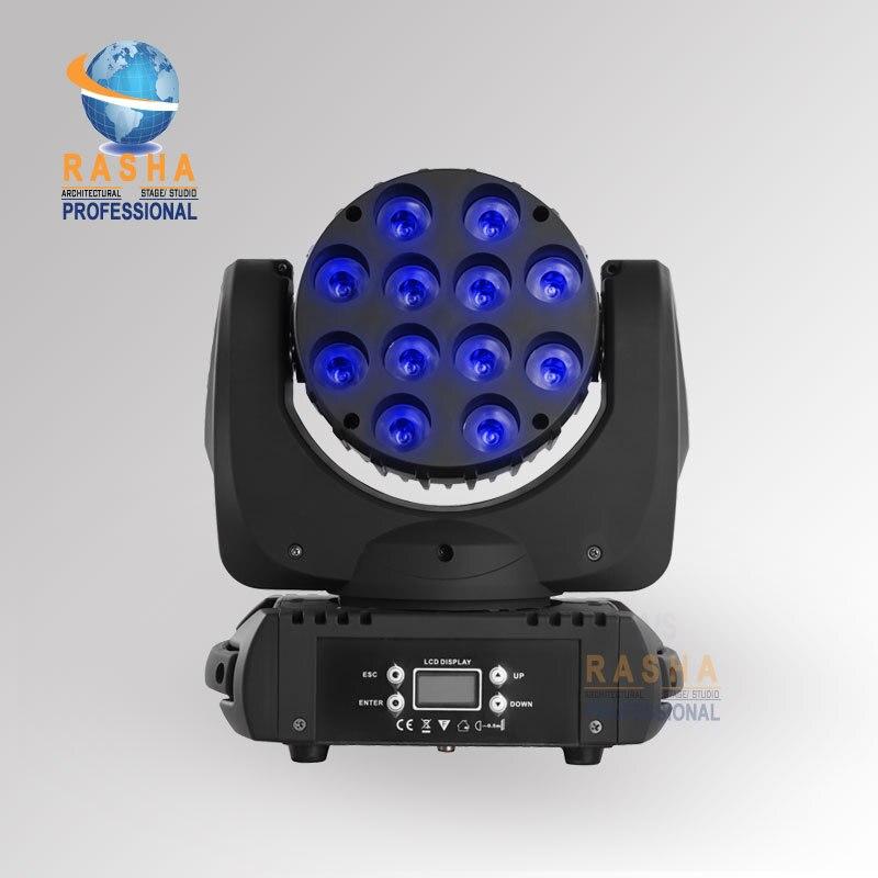 Rasha High Brightness 12*12W CREE 4IN1 RGBW LED Moving Head Beam,Moving Head Light,Beam Light,Disco Light