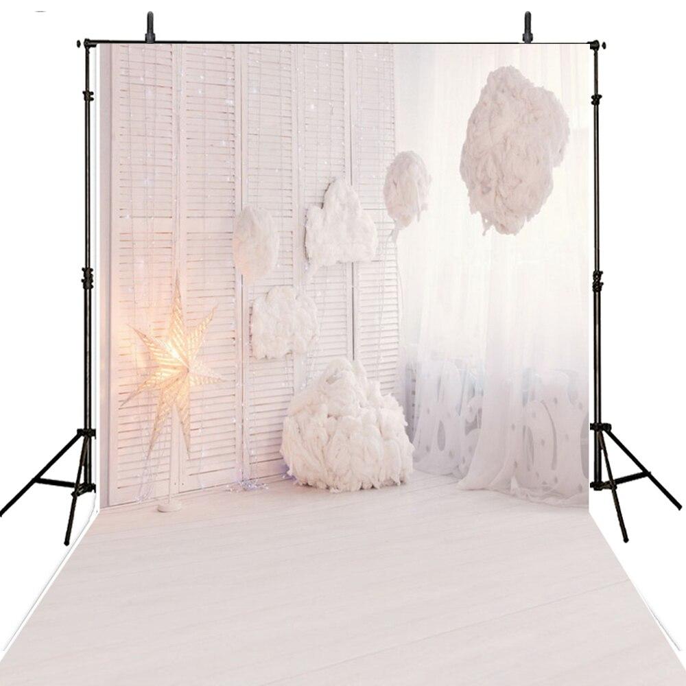 White Wedding Photography Backdrops Vinyl Backdrop For