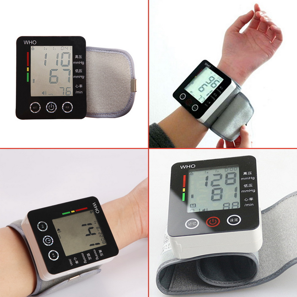 High Quality Touch Wrist Blood Pressure Monitor Watch Medical Arm Meter Pulse