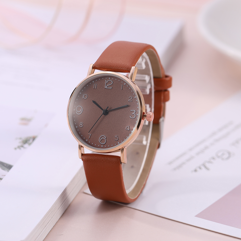 HTB1I_qyQSzqK1RjSZFHq6z3CpXar New Style Fashion Women's Luxury Leather Band Analog Quartz