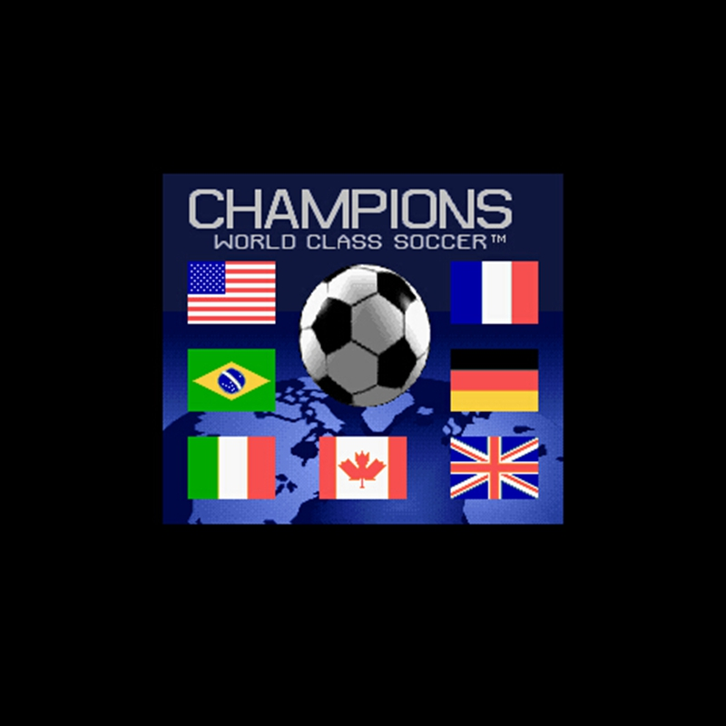 Champions World Class Soccer 16 bit Big Gray Game Card For NTSC Game Player Drop Shipping image