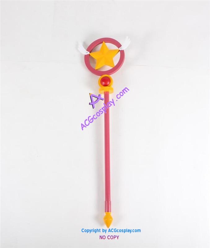 Card Captor Sakura sakura wand cardcaptor wand cosplay prop pvc made ACGcosplay