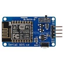 Open-smart esp8266 esp12 esp 12 12e módulo serial wifi sem fio transceptor adaptador placa compatível 3.3 v/5 v para arduino