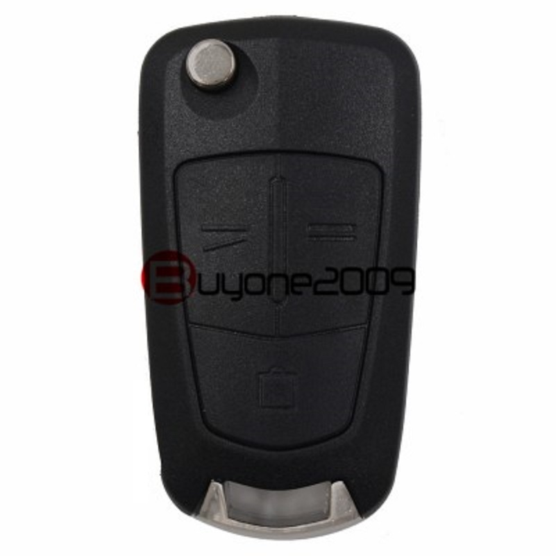 BRAND NEW Flip Folding Remote Key Keyless 2 Buttons for Opel Vectra Astra 433MHZ ID46 Chip HU100 Uncut Blade free shipping 1piece 2 button remote key mit11 uncut blade with 46 chip 433mhz for mitsubishi