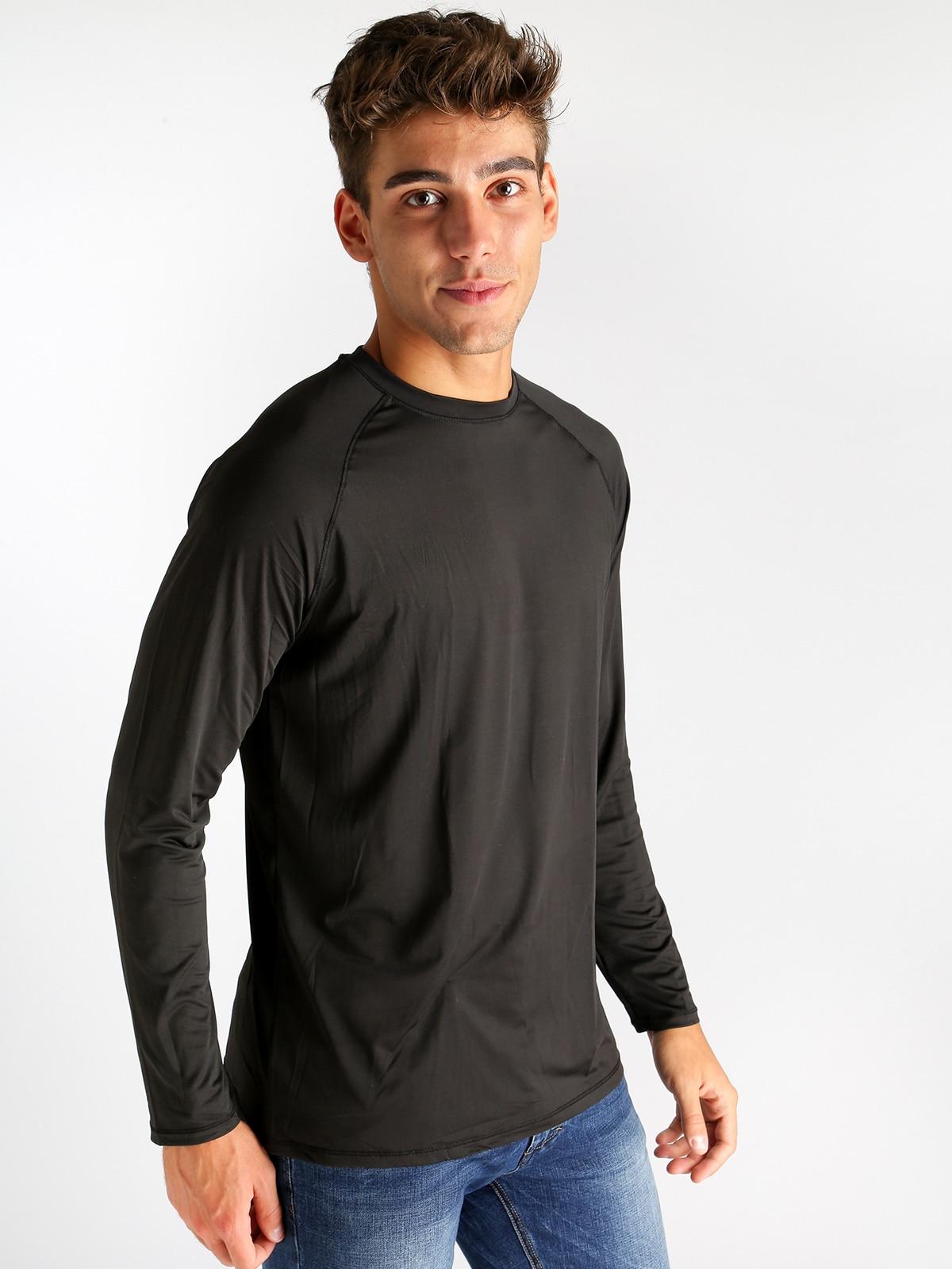 Technical Fabric Long Sleeve T Shirt