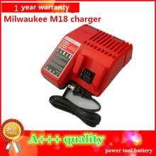 NEW Replacement charger For Milwaukee 14.4v-18v Charger M18,48-11-1828 Power Tools Rechargeable Li-ion Battery charger
