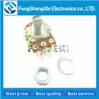 5pcs/lot WH148 Linear Potentiometer 15mm Shaft With Nuts And Washers 3pin WH148 B1K B2K B5K B10K B20K B50K B100K B250K